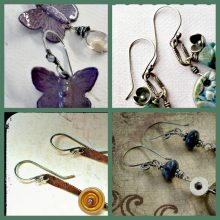 Saturday Share:  Ear wires…with a twist!
