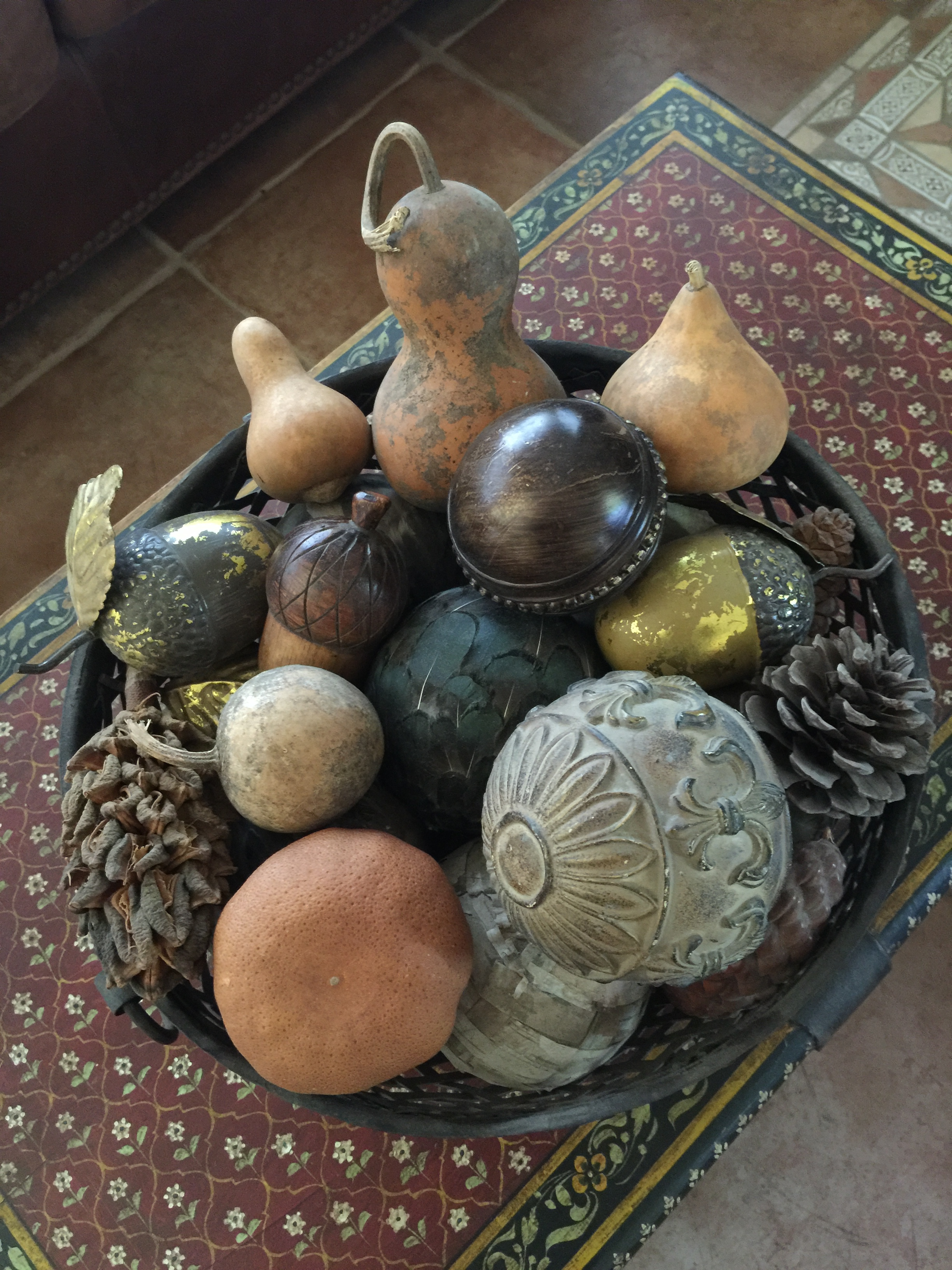 Gourds and orbs