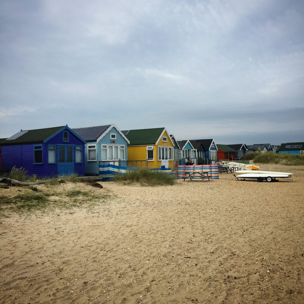 beach huts southern england