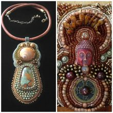 Interview with Cathy Mendola – seed beads, Buddha and goddesses